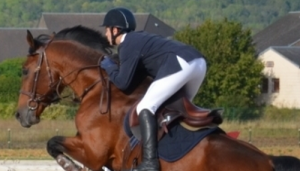 Horse riding academy in France