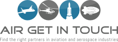 Airgetintouch covers the space as well as aviation industries