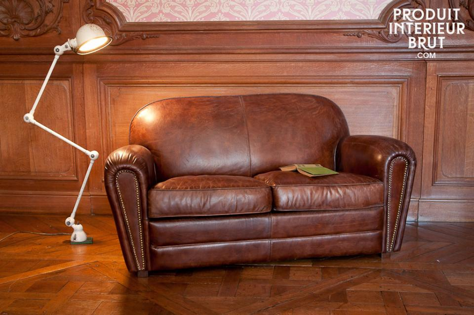 Unverwüstlich und bequem: das Clubsofa aus Leder von PIB Home