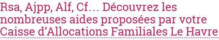 Allocations-info vous fournit des éclaircissements sur les prestations des Caf de France